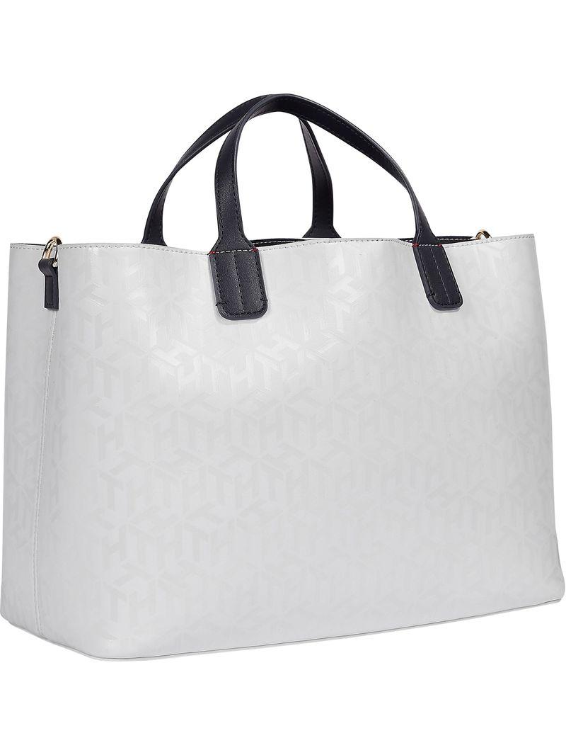 Bolso-satchel-Iconic-con-monogramas