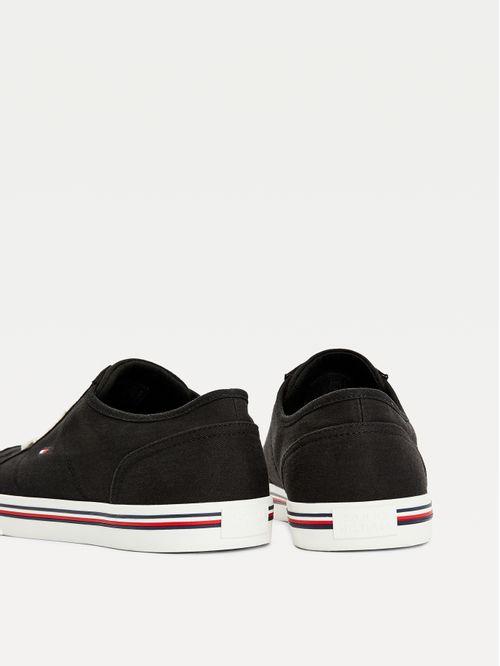 Zapatillas de lona con logo bordado