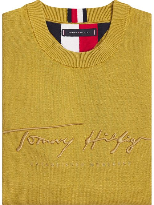 Jersey con firma de Tommy Hilfiger