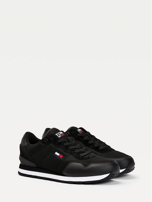 Zapatillas deportivas de malla de corte bajo