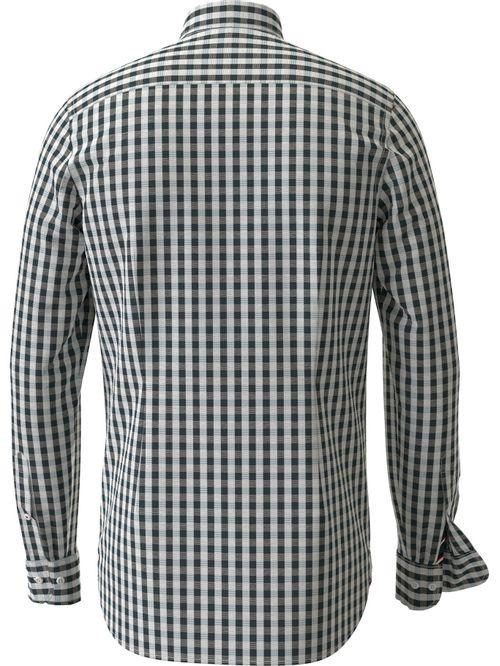 Camisa de cuadros Vichy y corte regular